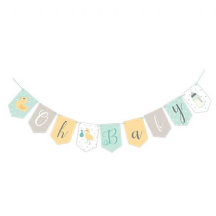 Oh Baby Unisex Bunting
